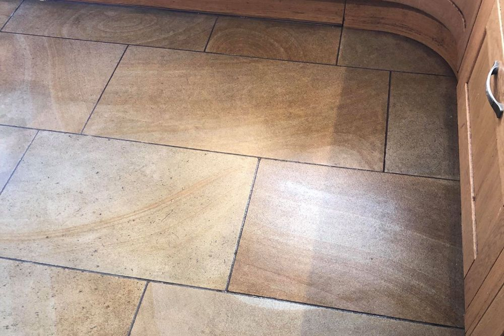 Commercial Stone Floor Restoration Sheffield, South Yorkshire
